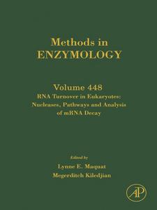 Ebook in inglese RNA Turnover in Eukaryotes -, -