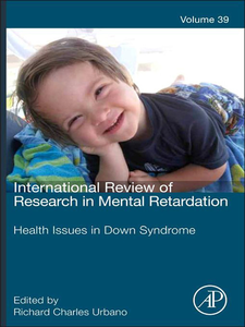 Ebook in inglese Health issues among persons with down syndrome -, -