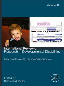 Ebook in inglese Early development in neurogenetic disorders -, -