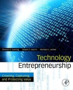 Foto Cover di Technology Entrepreneurship, Ebook inglese di AA.VV edito da Elsevier Science
