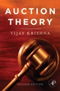 Ebook in inglese Auction Theory Krishna, Vijay