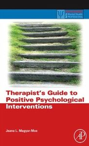Ebook in inglese Therapist's Guide to Positive Psychological Interventions Magyar-Moe, Jeana L.