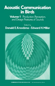 Ebook in inglese Acoustic Communication in Birds Kroodsm, roodsma