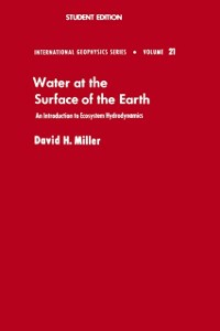 Ebook in inglese Water at the Surface of Earth Miller, David M.