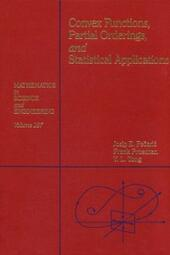Convex Functions, Partial Orderings, and Statistical Applications