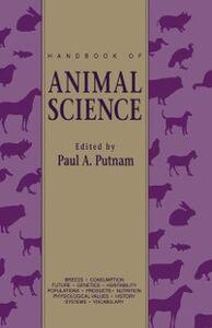 Foto Cover di Handbook of Animal Science, Ebook inglese di  edito da Elsevier Science