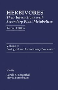 Ebook in inglese Herbivores: Their Interactions with Secondary Plant Metabolites -, -