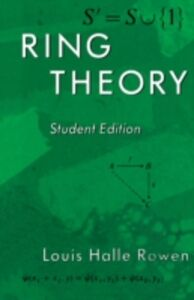Ebook in inglese Ring Theory, 83 Rowen, Louis H.