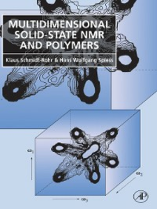 Ebook in inglese Multidimensional Solid-State NMR and Polymers Schmidt-Rohr, Klaus , Spiess, Hans Wolfgang