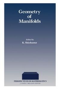 Foto Cover di Geometry of Manifolds, Ebook inglese di  edito da Elsevier Science