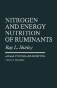 Ebook in inglese Nitrogen and Energy Nutrition of Ruminants -, -