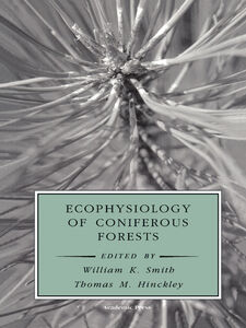 Ebook in inglese Ecophysiology of Coniferous Forests