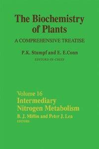 Ebook in inglese Intermediary Nitrogen Metabolism -, -