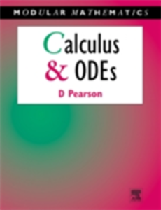 Ebook in inglese Calculus & Ordinary Differential Equations Pearson, David