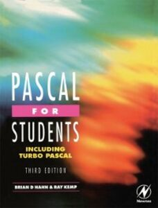 Ebook in inglese Pascal for Students (including Turbo Pascal) Hahn, Brian , Kemp, Ray