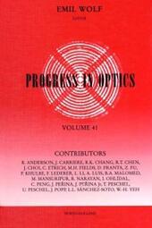 Progress in Optics Volume 41