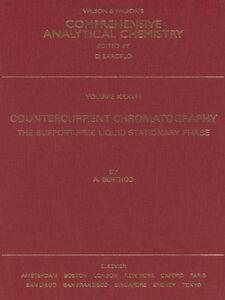 Foto Cover di Countercurrent Chromatography, Ebook inglese di A. Berthod, edito da Elsevier Science