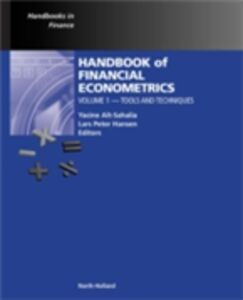 Ebook in inglese Handbook of Financial Econometrics, Vol 1