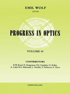 Ebook in inglese Progress in Optics Volume 43