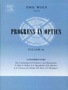 Ebook in inglese Progress in Optics -, -