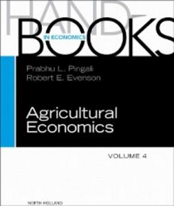 Ebook in inglese Handbook of Agricultural Economics -, -