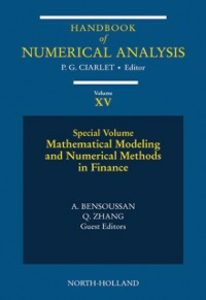 Ebook in inglese Mathematical Modelling and Numerical Methods in Finance -, -