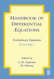 Ebook in inglese Handbook of Differential Equations: Evolutionary Equations -, -