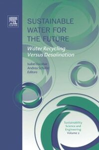 Ebook in inglese Sustainable Water for the Future -, -