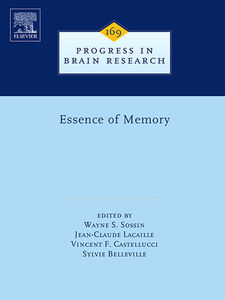 Foto Cover di Essence of Memory, Ebook inglese di AA.VV edito da Elsevier Science