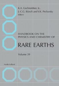 Foto Cover di Handbook on the Physics and Chemistry of Rare Earths, Ebook inglese di  edito da Elsevier Science