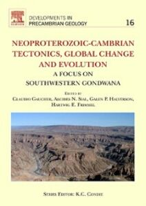 Ebook in inglese Neoproterozoic-Cambrian Tectonics, Global Change and Evolution -, -