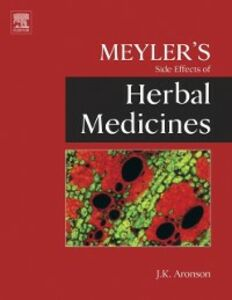 Ebook in inglese Meyler's Side Effects of Herbal Medicines -, -