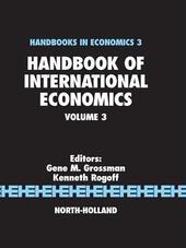 Handbook of International Economics
