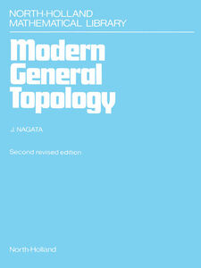 Ebook in inglese Modern General Topology Nagata, J.-I.