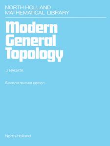 Ebook in inglese Modern General Topology Nagata, J.-I.