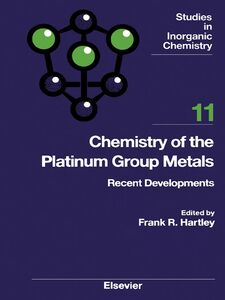 Ebook in inglese Chemistry of the Platinum Group Metals -, -