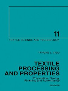 Ebook in inglese Textile Processing and Properties Vigo, T.L.