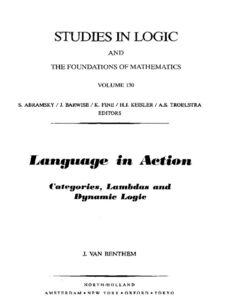 Foto Cover di Language in Action, Ebook inglese di J. van Benthem, edito da Elsevier Science