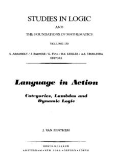 Ebook in inglese Language in Action Benthem, J. van