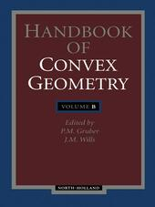 Handbook of Convex Geometry
