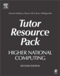 Foto Cover di Higher National Computing Tutor Resource Pack, Ebook inglese di AA.VV edito da Elsevier Science