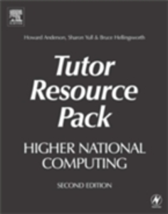 Ebook in inglese Higher National Computing Tutor Resource Pack Anderson, Howard , Hellingsworth, Bruce , Yull, Sharon