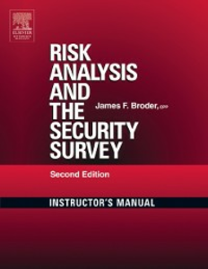 Ebook in inglese Risk Analysis and the Security Survey Instructor's Manual Broder, James F.