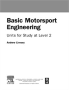 Ebook in inglese Basic Motorsport Engineering Livesey, Andrew