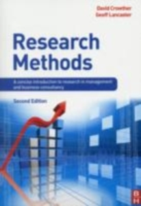 Ebook in inglese Research Methods Crowther, David , Lancaster, Geoff