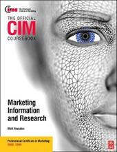 CIM Coursebook Market Information and Research