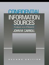 Confidential Information Sources