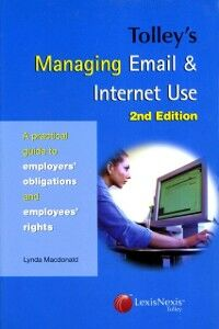 Ebook in inglese Tolley's Managing Email & Internet Use Macdonald, Lynda A C