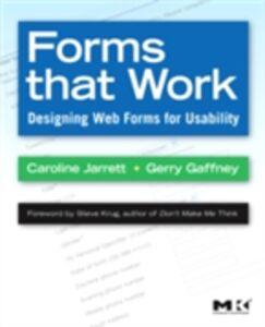 Ebook in inglese Forms that Work Gaffney, Gerry , Jarrett, Caroline