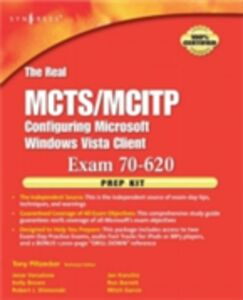 Ebook in inglese Real MCTS/MCITP Exam 70-620 Prep Kit Piltzecker, Anthony